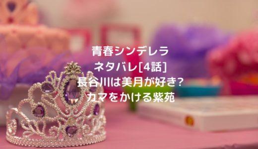 青春シンデレラネタバレ[4話]長谷川は美月が好き?カマをかける紫苑