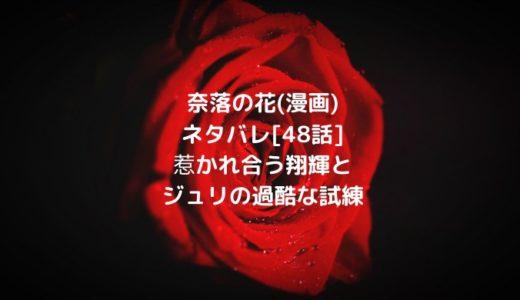 奈落の花(漫画)ネタバレ[48話]惹かれ合う翔輝とジュリの過酷な試練