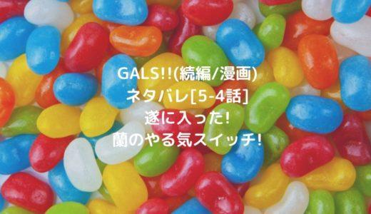 GALS!!(続編/漫画)ネタバレ[5-4話]遂に入った!蘭のやる気スイッチ!