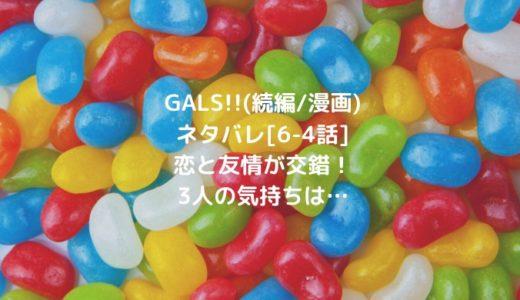 GALS!!(続編/漫画)ネタバレ[6-4話]恋と友情が交錯!3人の気持ちは…