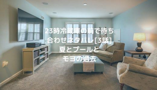 23時冷蔵庫の前で待ち合わせネタバレ[3話]夏とプールとモヨの過去