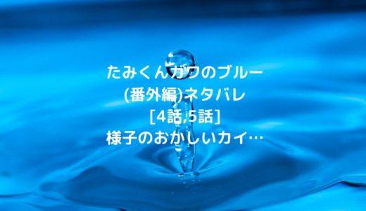 たみくんガワのブルー(番外編)ネタバレ[4話,5話]様子のおかしいカイ…