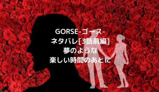 GORSE-ゴース-ネタバレ[3話前編]夢のような楽しい時間のあとに