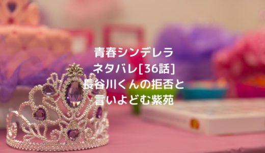 青春シンデレラネタバレ[36話]長谷川くんの拒否と言いよどむ紫苑