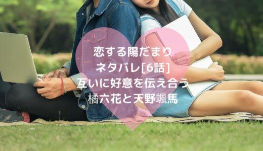 恋する陽だまりネタバレ[6話]互いに好意を伝え合う橘六花と天野颯馬