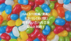 GALS!!(続編/漫画)ネタバレ[8-2話]前を向いたハルエが錠山と対峙!