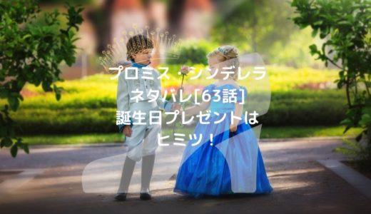 プロミス・シンデレラネタバレ[63話]誕生日プレゼントはヒミツ!