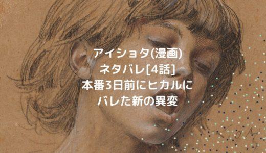アイショタ(漫画)ネタバレ[4話]本番3日前にヒカルにバレた新の異変