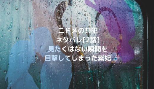 ニドメの共犯ネタバレ[2話]見たくはない瞬間を目撃してしまった紫妃