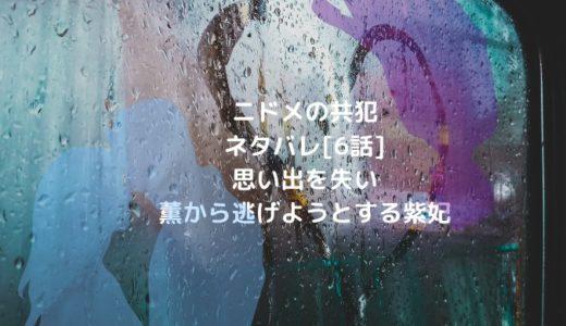 ニドメの共犯ネタバレ[6話]思い出を失い薫から逃げようとする紫妃