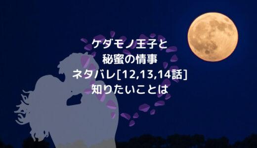 ケダモノ王子と秘蜜の情事ネタバレ[12,13,14話]知りたいことは