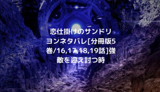 恋仕掛けのサンドリヨンネタバレ[分冊版5巻/16,17,18,19話]強敵を迎え討つ時