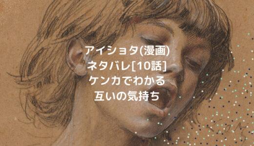 アイショタ(漫画)ネタバレ[10話]ケンカでわかりあう互いの気持ち