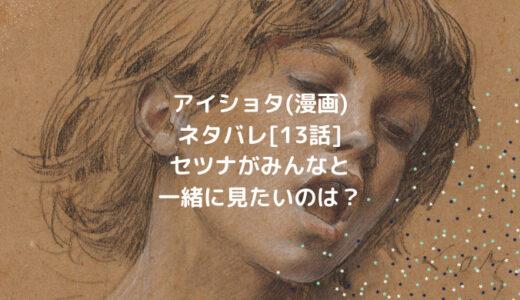アイショタ(漫画)ネタバレ[13話]セツナがみんなと一緒に見たいのは?