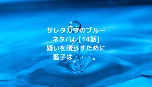 サレタガワのブルーネタバレ[14話]疑いを晴らすために 藍子は・・・。